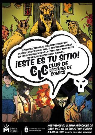 Club de lectura de cómics de las Bibliotecas Municipales de A Coruña