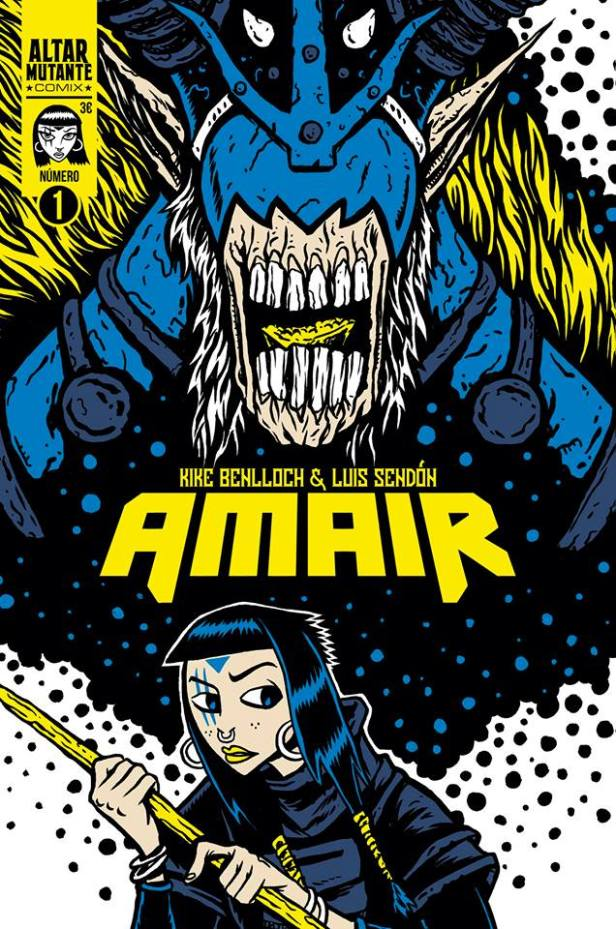 Portada del comic book Amair